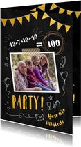 Einladungskarte zum Familiengeburtstag