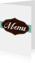 Elegance menukaart