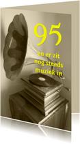 Er zit nog steeds muziek in