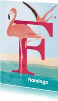 F van flamingo