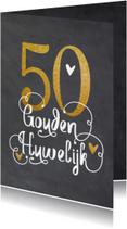 Felicitatie gouden huwelijk - LO