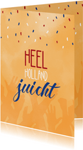 Felicitatie heel Holland juicht