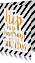 Felicitatie -Hip hip hooray