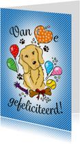 Felicitatie hondenliefhebber