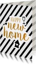 Felicitatie - new home gold