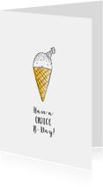 felicitatie verjaardag ijsje
