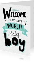 Felicitatiekaart Baby boy-99