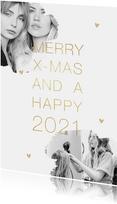 Firmen-Weihnachtskarte Fotos stilvoll & hip