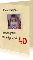 Uitnodigingen - foto album 40