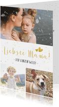 Fotocollage Karte Muttertag 'Liebste Mama!'