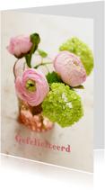 Fotokaart bloemen