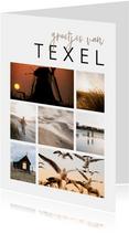 Fotokaart fotocollage 7 foto's aanpasbaar
