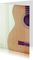 Fotokaart gitaar