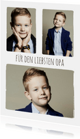 Fotokarte Serie aus drei Fotos