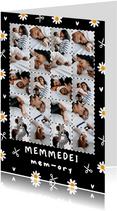 Friese moederdagkaart memmedei mem-ory