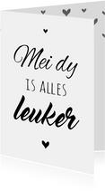 Fryske kaart - mei dy is alles leuker