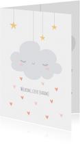 Geboorte | Wolkje & hartjes - KO