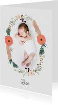 Geboortekaartje Lize - HM