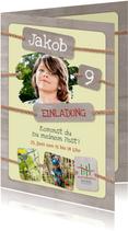 Geburtstagseinladung Kletterwald Neroberg