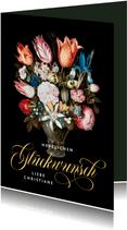 Geburtstagskarte Blumenbouquet