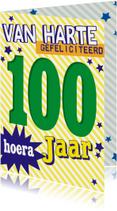 gefeliciteerd 100 jaar -BF