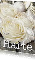 Verjaardagskaarten - Gefeliciteerd 7 - Witte Roos