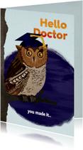Gefeliciteerd met je PhD/promotie!