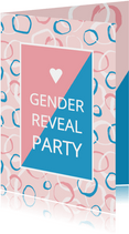 Gender Reveal uitnodiging
