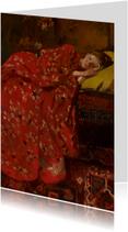 George Breitner. Meisje in rode kimono