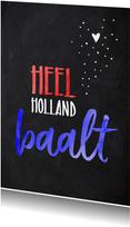 Geslaagd  gezakt Heel Holland baalt
