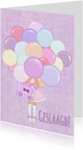 Geslaagd Pastel Ballon - TbJ