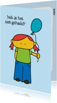 Geslaagd School Ballonnetje