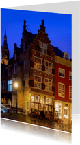 Grachtenpand in Delft