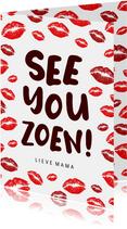 Grappige moederdagkaart Corona - See You Zoen