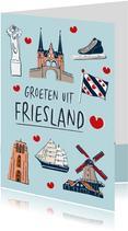 Groeten uit Friesland