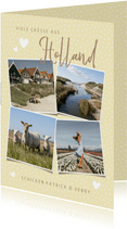 Grußkarte Urlaub in Holland