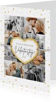 Grußkarte Valentinstag eigene Fotos & Herz