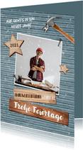 Grußkarte Weihnachten geschäftlich Handwerker