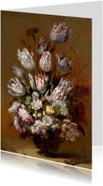 Hans Bollongier. Stilleven met bloemen