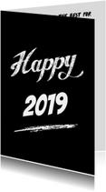 Nieuwjaarskaarten - Happy 2019 internationaal
