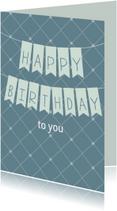 Happy Birthday je bent jarig!
