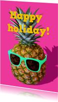 Vakantiekaarten - holiday ananas