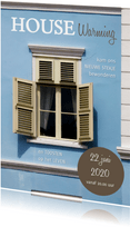 House warming foto venster