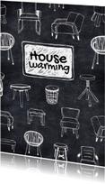 Housewarming hippe meubels