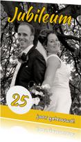 Jubileumkaarten - Huwelijksjubileum eigen foto 1 - OT
