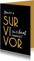 I am a survivor - kanker