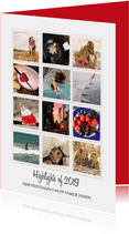 Instagram kerstkaart Highlights