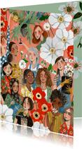 International Women's Day kaart