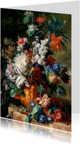Jan van Huysum. Boeket met bloemen
