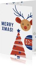 Jeugdfonds Sport & Cultuur kerstkaart Jeugdfonds